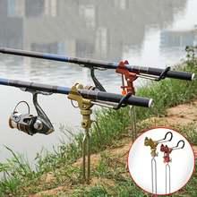 Рыболовная удочка из нержавеющей стали металлический держатель