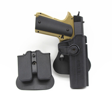 For colt 1911 Gun Holster tactical Pistol gun case bag Military Right Hand Belt IMI belt holster