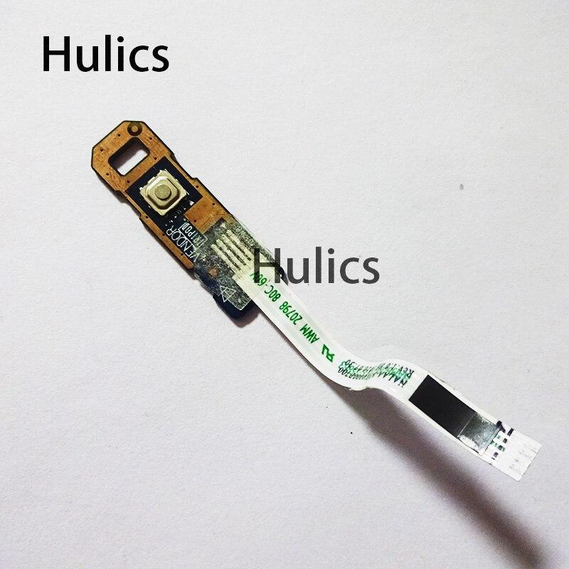 Huics original para toshiba satélite l670d l670 l675 l675d 6044p placa de interruptor botão energia LS-6044P