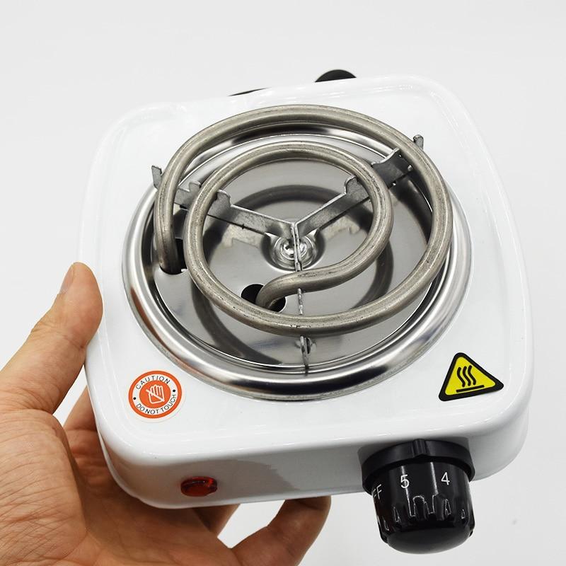 Hookah Charcoal Burner 500W Electric Stove Hot Plate Iron Burner Travel Portable Cooking Appliances Coffee Heater Chicha EU Plug
