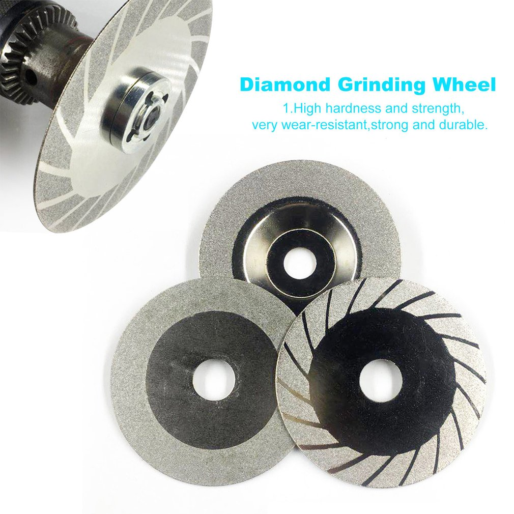 100MM Diamond Grinding Wheel Cut Off Discs Wheel Glass Cutting Saw Blades Cutting Blades Rotary Abrasive Tools