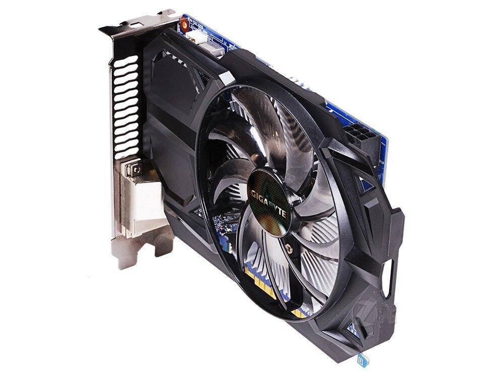 Видеокарта Gigabyte GTX 750Ti 2 Гб, видеокарта NVIDIA GTX750 750 Ti 2 Гб, видеоэкранные карты GPU, настольный компьютер, видеокарта для игр, видеокарта VGA-2
