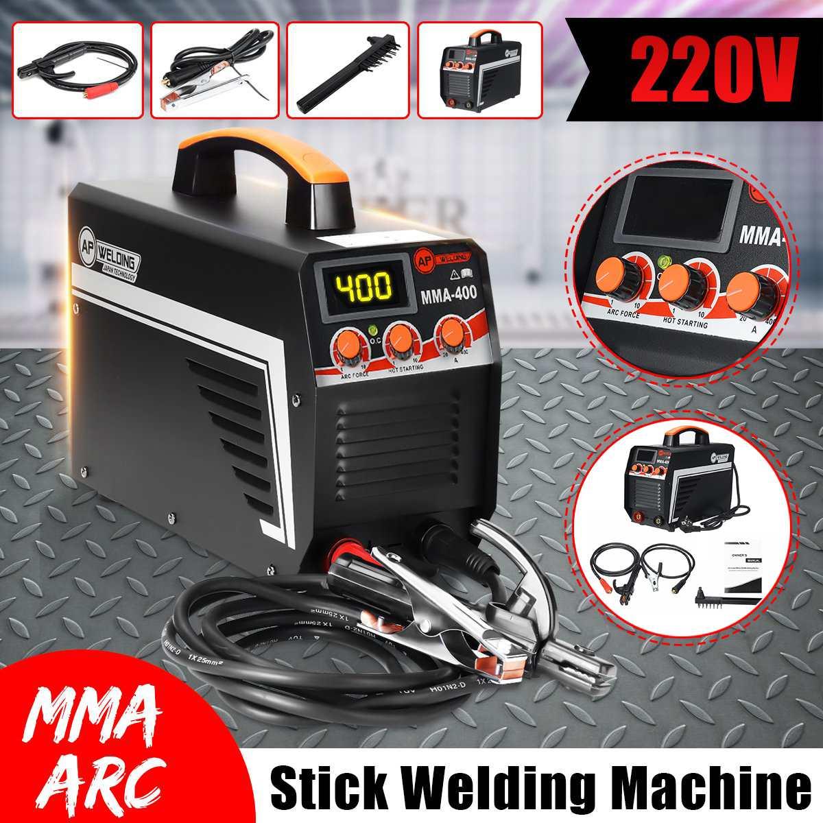 Arc Welder Electric Welding Machine IGBT Inverter Digital Display Portable Mini Arc Welding Machine Welder 220V Welding Tools