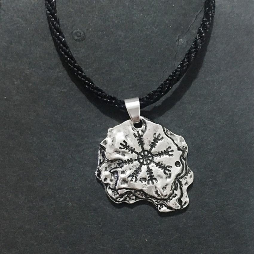 Collier Viking pépite argent 5