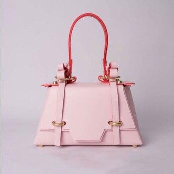 2020 New Ladies Shoulder Bag Women's Solid Color Bow Handbags Crossover Shoulder Bag/Hand Bag Square Sling Bag