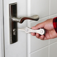 Knochen Schlüssel Halter Kleine Schlüsselbund Hippo Kreative Geschenke Klapp Schlüssel Organizer Auto Schlüssel Kette|Schlüsseletui für Auto|   -