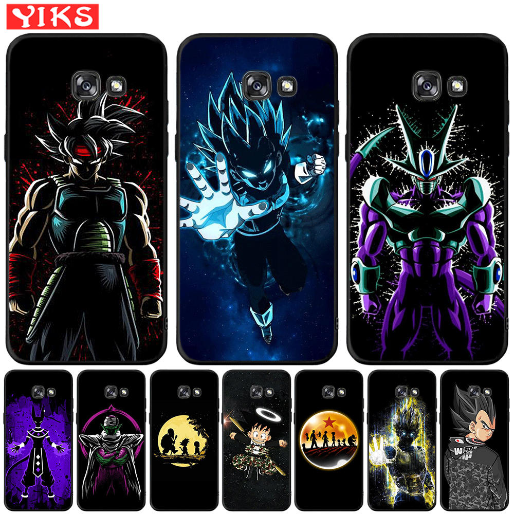 Anime Dragon Ball Super Z Songuku For <font><b>Samsung</b></font> Galaxy A20 <font><b>A30</b></font> A50 A3 A5 A7 2016 2017 A6 A8 Plus A9 2018 Silicone Cover Case Coque image