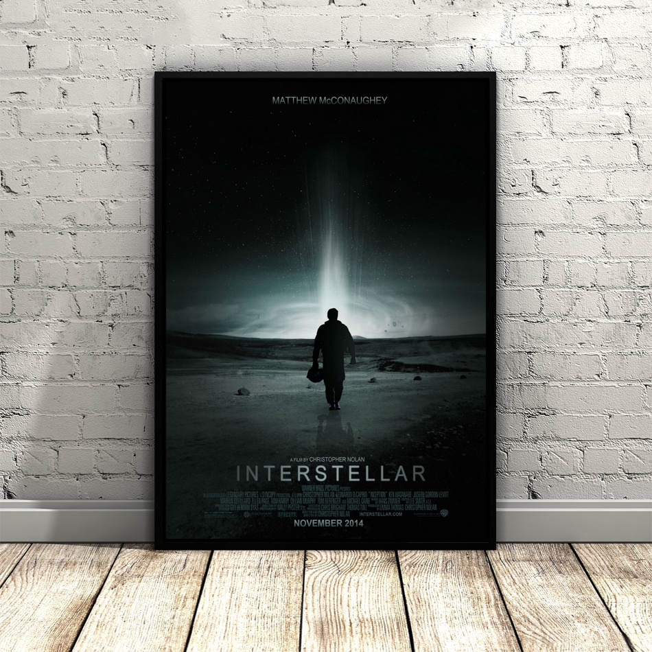 Interstellar Space movie Art Silk Poster Home Decor 12x18 24x36inch image