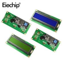Module LCD 16x2 IIC/I2C PCF8574 LCD1602 écran d'affichage, caractère LCD bleu/vert blacklight 5V pour Arduino MAEG2560 UNO R3