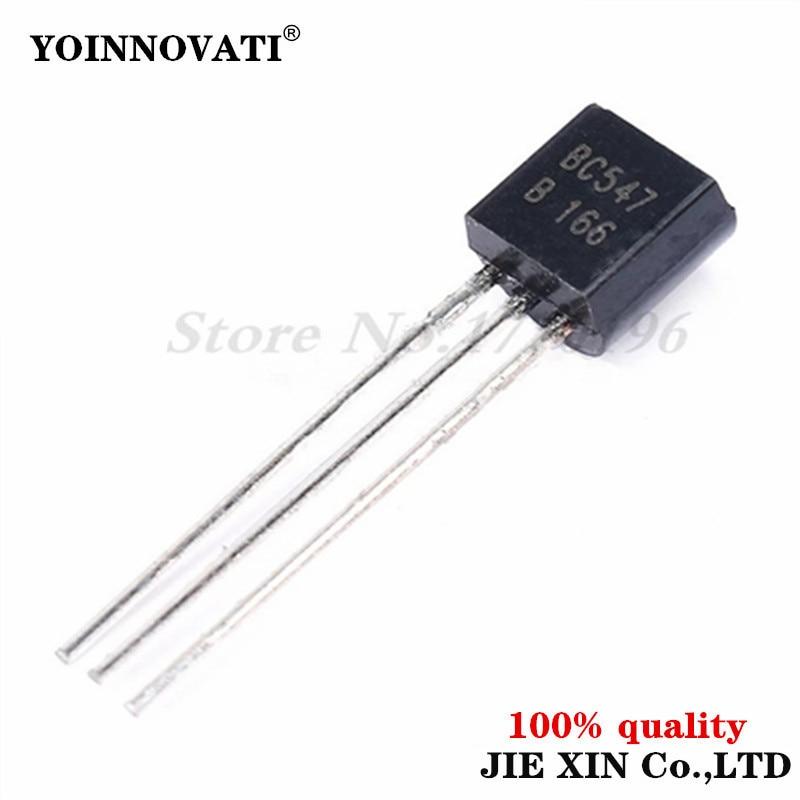 BC547B BC557B Each 50pcs All 100pcs//bag BC547 BC557 NPN PNP Transistor TO-92 Triode Transistor