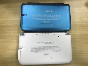 Image 3 - Сменный Чехол с полным корпусом для консоли Nintendo 3DS XL/LL с винтами на кнопках, красный/серебристый/белый/синий/черный цвета