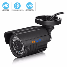 BESDER كاميرا AHD للرؤية الليلية الأشعة تحت الحمراء الأمن فيديو سورفيلا مراقبة رصاصة الأشعة تحت الحمراء قطع تصفية ABS البلاستيك CCTV HD كاميرا