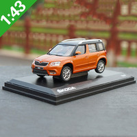 High quality original 1:43 SKODA Yeti City Edition Alloy model,simulation collection gift,die cast metal car model,free shipping