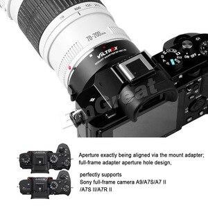 Image 3 - VILTROX EF NEX IV Auto โฟกัสเลนส์สำหรับ Canon EOS EF EF S เลนส์สำหรับ SONY E NEX Full กรอบ A9 AII7 A7RII A7SII A6500 A6300