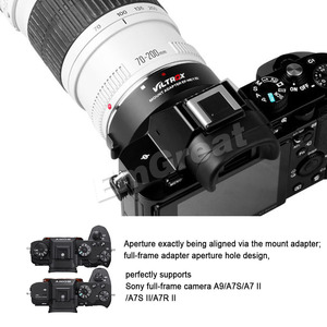 Image 3 - Viltrox EF NEX IV Auto Focus Lens Adapter for Canon EOS EF EF S Lens for Sony E NEX Full Frame A9 AII7 A7RII A7SII A6500 A6300