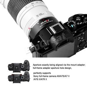 Image 3 - Viltrox EF NEX IV otomatik odaklama Lens adaptörü Canon EOS EF için EF S Lens Sony e mount NEX tam çerçeve A9 AII7 a7RII A7SII A6500 A6300