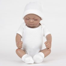 New Early Childhood Education Gift Rebirth Doll Simulation Doll Baby Soft Photography Love Dolls Silicone Child Doll(China)