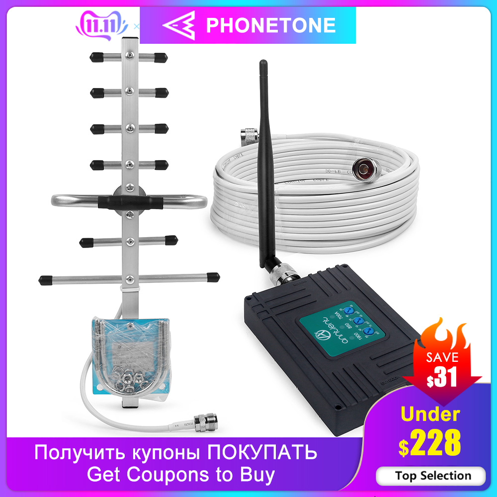AT&T 700/850/1900MHz Cell Phone Signal Booster For US/CA 4G LTE Repeater GSM Amplifier 2G 3G GSM UMTS Repeater For Voice/Data