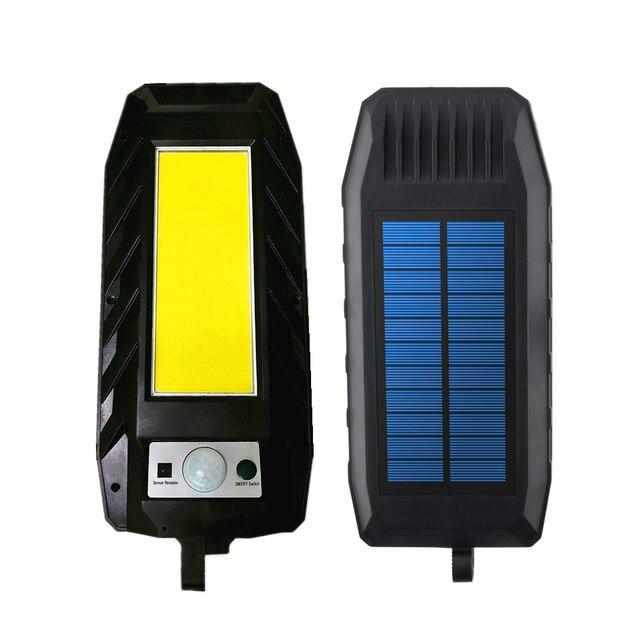 Фото светодиодный светильник на солнечной батарее уличный с регулируемой