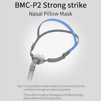 Nasal Mask Ventilator  Product P2 Nasal Pillow Nasal Mask Pm Nasal Constriction Household Nasal Stopper Universal Accessories