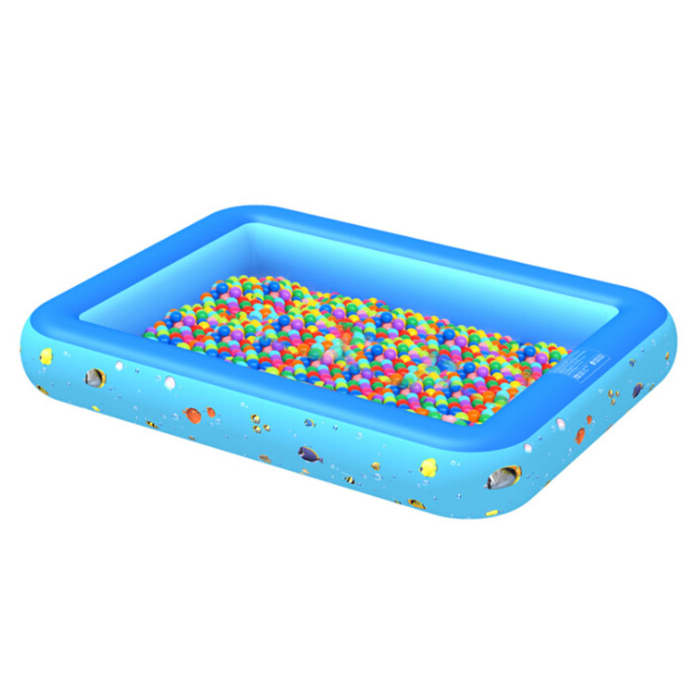 Outdoor Play Ball Pool Baby Swimming Pool Child Summer Kid Water Toys Inflatable Bath Tub Round Lovely Bottom