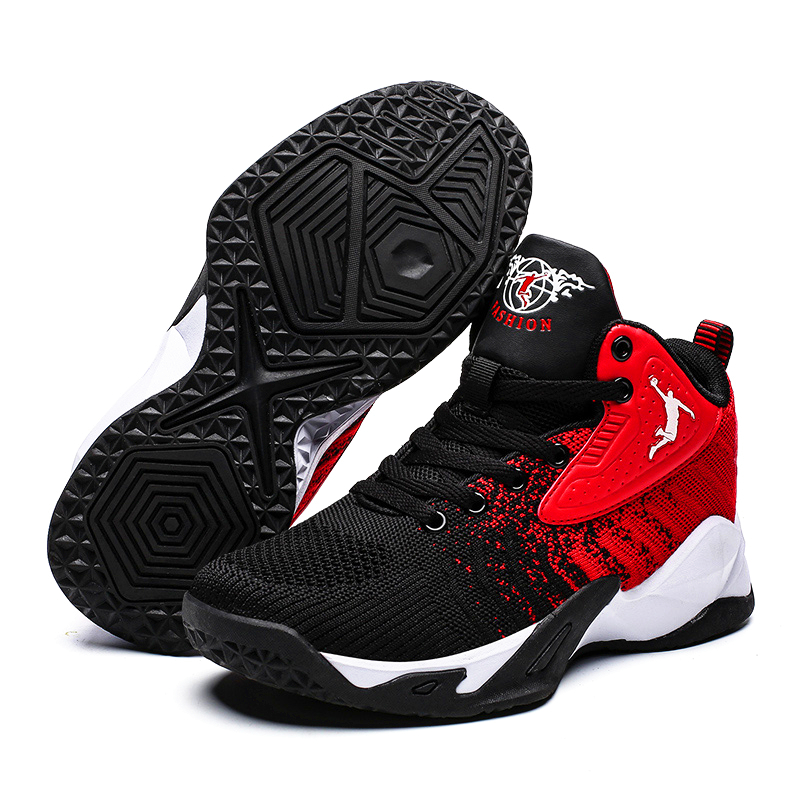 Shoes Basketball-Shoes Sport Breathable Winter New-Brand Mesh Unisex Non-Slip Big Men title=