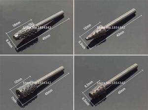 Image 4 - 10 шт., набор вращающихся Rasp файлов, 3 мм, Burr файлов, Rasp биты для сверла для деревообработки, HSS роторная пилка для сверления древесины, инструмент артефакт