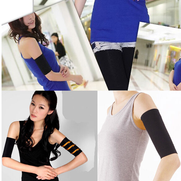Women Weight Loss Arm Shaper Fat Buster Off Cellulite Slimming Wrap Belt Band Arm Warmers Apparel Accessories
