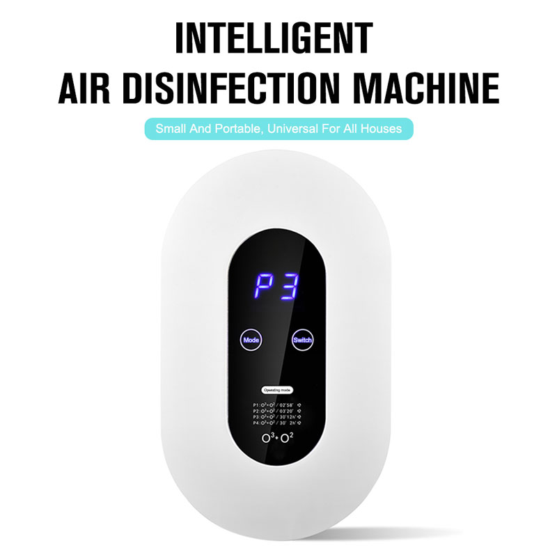 Household Ozone Generator Air Disinfection Machine Purifier Disinfector Air Cleaner for Bathroom, Bedroom Kitchen Four Modes(China)