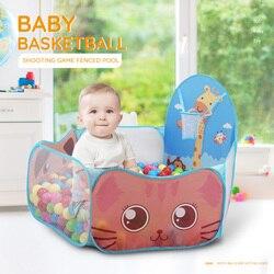 Портативный детский манеж, детский уличный Крытый мяч, бассейн, Игровая палатка, безопасные Складные манежи, игровой бассейн из шариков для ...