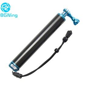 Carbon Fiber Buoyancy Stick Floating Tripod Handheld Selfie Stick for DJI Osmo Action for Gopro Hero Yi EKEN Camera Diving Parts