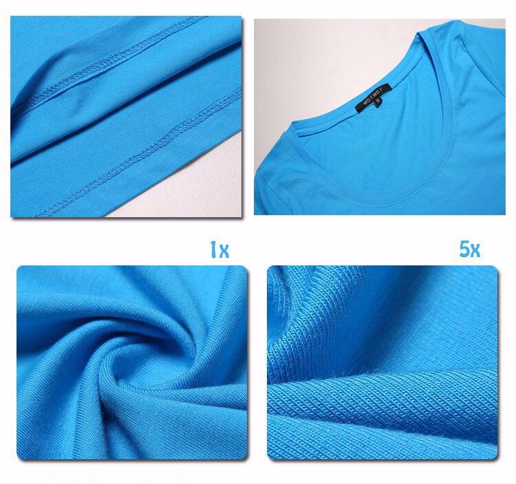 High Quality Plain T Shirt Women Cotton Elastic Basic T-shirts 56