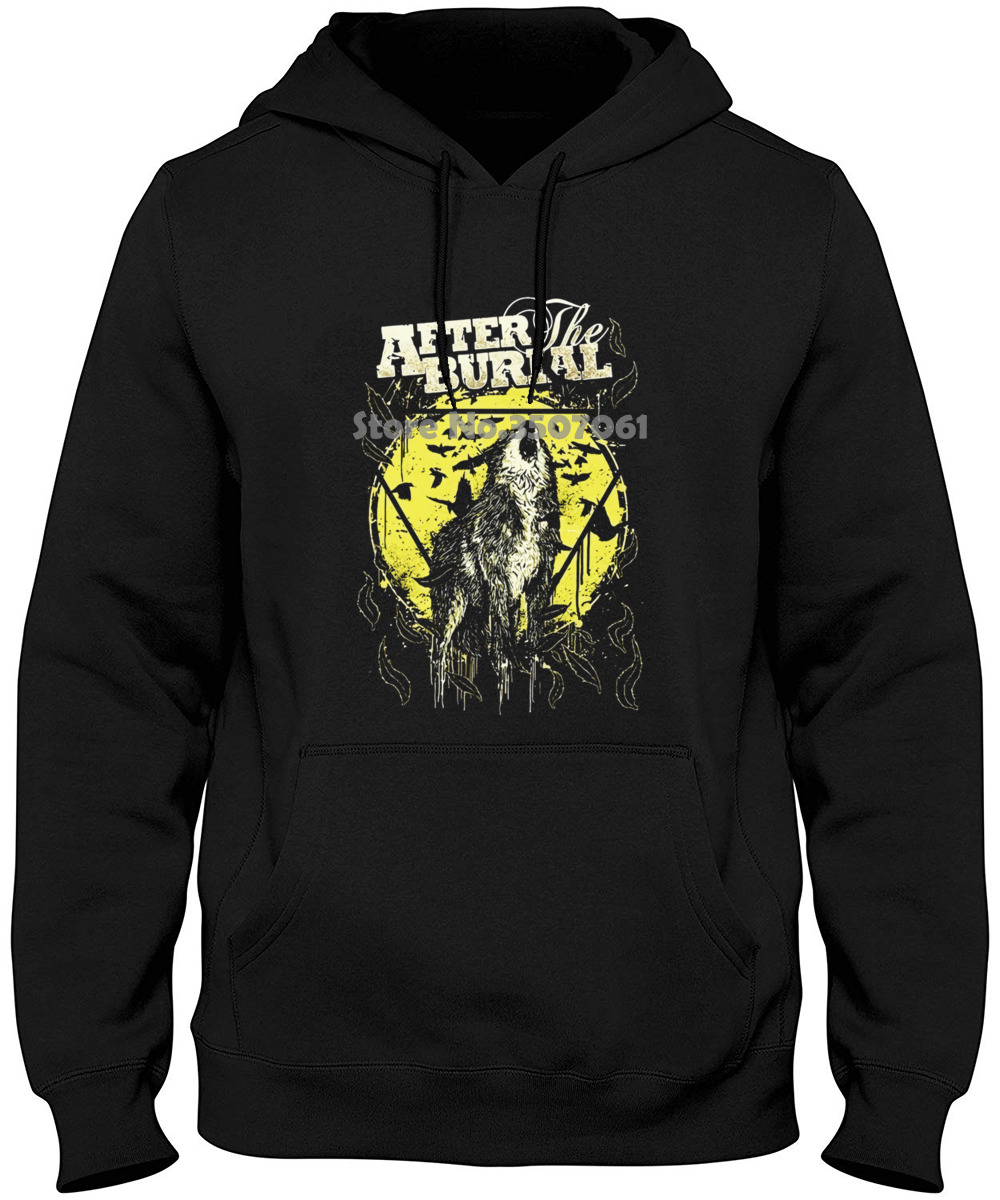 After The Burial American Progressive Metalcore Band Round Neck Hoodies & Sweatshirts image
