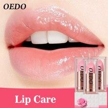 3PCS Charme Lange Anhaltende Feuchtigkeit Kosmetische Lippenstift Reparatur Schaden Lip Feucht Lip Creme Rose Peptid Pflegende Bunte Lip Balm