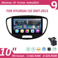 10 for for para hyundai i10 2007-2013 rádio do carro 9