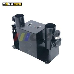 Image 5 - Duplo tiro streamter lançador dmx confetti máquina spray colorido papel atirador casamento