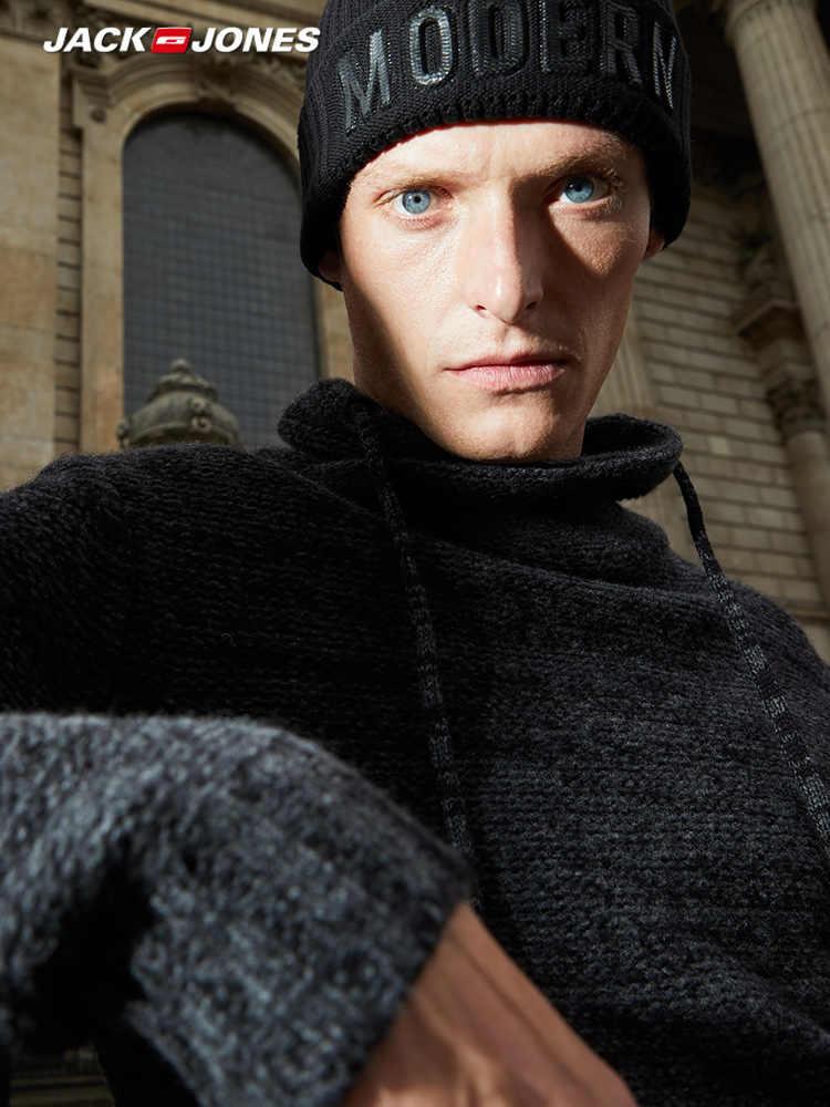 Jack Jones Men zagęścić jesień sweter zimowy sweter z golfem | 218325508