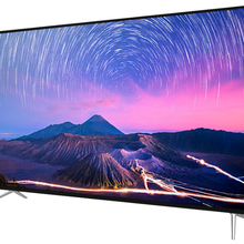 Tela grande do monitor 75 Polegada 4k, android inteligente led tv wi-fi tv