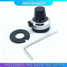 1 pces WXD3-13 3590 s precisão escala 6.35mm botão potenciômetro equipado com multi-turn potenciômetro 3590s-2