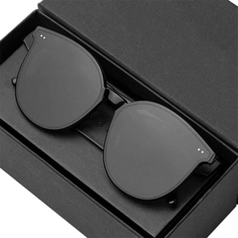 Cat-Eye Sunglasses Flat Top Elegant Twin Beam Over-sized Fashion Women Eye-wear