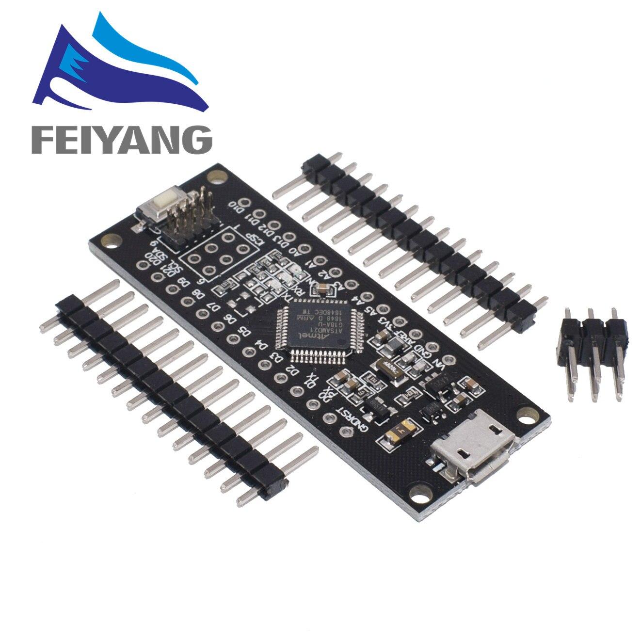 Для WeMos D1 SAMD21 M0 Mini USB для ARM Cortex M0 32-битный удлинитель для Arduino Zero UNO Diy Электронный модуль R3