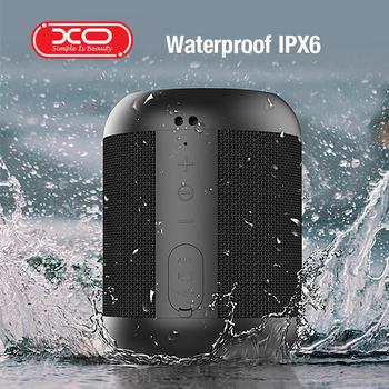 XO-F17 głośnik Bluetooth przenośne głośniki bezprzewodowe do telefonu komputera muzyka stereo surround wodoodporne zewnętrzne głośniki Box tanie i dobre opinie SIMPLE IS BEAUTY XO Liniowe Audio Pełny Zakres Metal NONE 100 hz-20 khz Aluminium