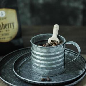Image 1 - 金属鉄錬鉄鉄花瓶ジャー小さなミルクポットレトロインダス素朴な静物食品写真撮影の小道具