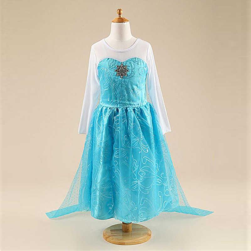 Cadılar bayramı elbise kız kostüm fantezi parti prenses Cosplay bebek elbiseleri çocuk noel doğum günü setleri giysi