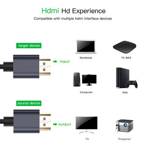 Image 3 - Robotsky HDMI Cable 2.0V High Speed Gold Plated HDMI to HDMI Cable 4K 1080P 3D for PS3 projector TV