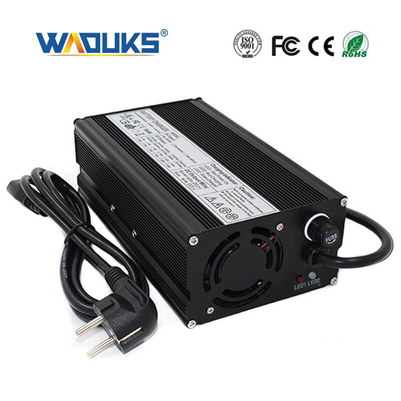 48V 9A 鉛蓄電池スマート充電器アルミシェルファン 48V バッテリーパック充電器入力 100VAC 240VAC  グループ上の 家電製品 からの 充電器 の中 1