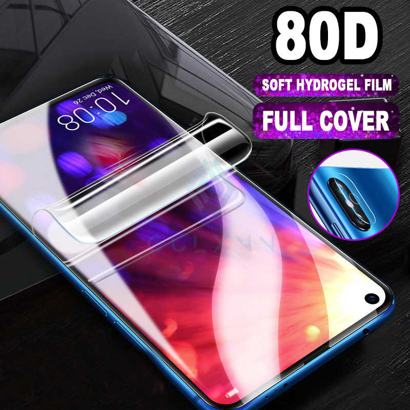 2Pcs Soft Hydrogel Film For Honor 20 Pro 20lite 10 20S 9x 8x Screen Protector 15H Safety Camera Lens Glasses For Nova 5 5i 5T 6