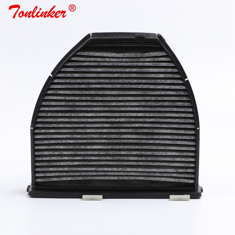 Image 2 - Cabin Filter A2128300038 1Pcs For Mercedes Benz C CLASS W204 S204 2007 2014 C204 2011 19 C180 C200 C250 C280 C320 C350 C63 Model-in Cabin Filter from Automobiles & Motorcycles