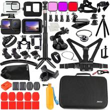 Husiway Accessories Kit for Gopro Hero 9 8 7 6 5 Black Waterproof Housing Screen Protector for Gopro9 Gopro8 Gopro7 62E
