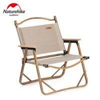 Naturehike Dobrar Cadeira De Pesca de Alumínio Leve Compacto Heavy Duty Camping Cadeira Dobrável Portátil Cadeira Dobrável de Piquenique|Cadeiras de pesca| |  -